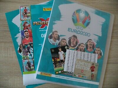 Panini Adrenalyn XL UEFA Euro 2020 Starter Pack Limited Edition Sammelmappe