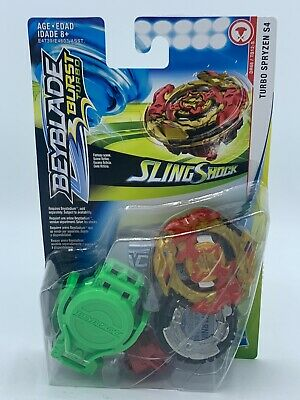 Beyblade Burst Turbo Slingshock Starter Pack - Turbo Spryzen S4 - NEW!!!