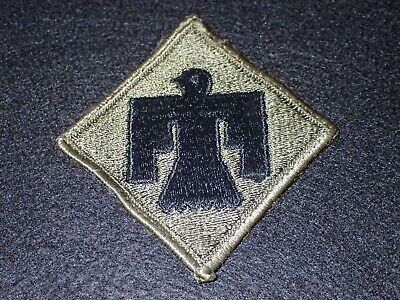 Army Color Shoulder Patch insignia SSI sewn edge 46th INFANTRY DIVISION