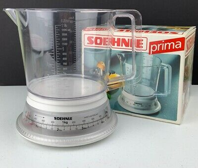 Soehnle Prima Baking and Domestic Mechanical Scale US & Metric with Box