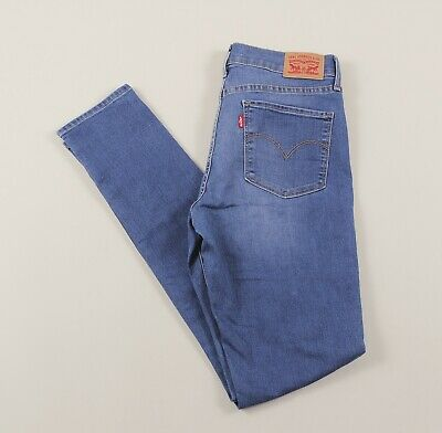 Vintage LEVI'S Blue 311 Shaping Skinny Fit Womens Jeans 29W 34L 29/34 /J39024