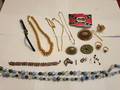 Vintage ANTIQUE Jewellery Joblot Collection Bundle All Wearable