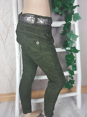 @ } Karostar Army Green Baggy Pants Boyfriend Jeans Beautiful Color Tone