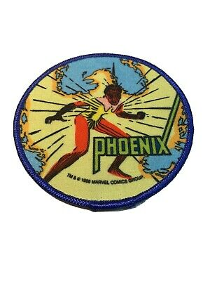 "1985 Vintage Marvel Comics Phoenix 4"" Patch The Uncanny X-Men New Mutants"