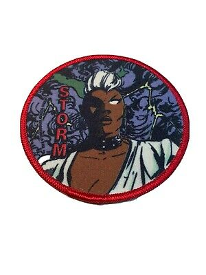 "1985 Vintage Marvel Comics Storm 4"" Patch The Uncanny X-Men New Mutants"