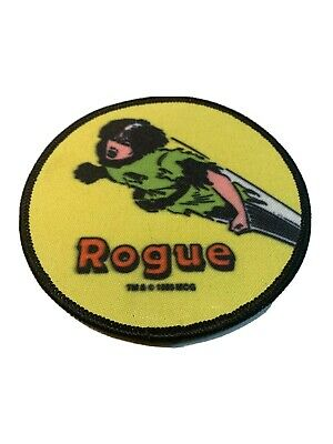 "1985 Vintage Marvel Comics Rogue 4"" Patch The Uncanny X-Men New Mutants"