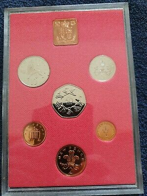 1973 Royal Mint Proof coin year set with all original packaging
