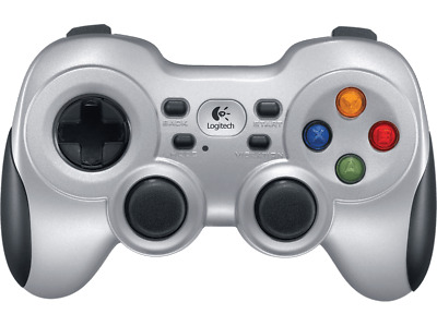 Gamepad - Logitech Wireless F710 inalámbrico, diseñado para PC