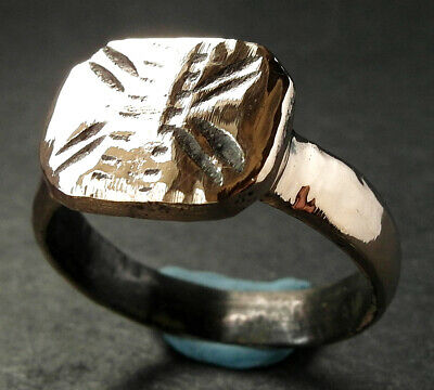A perfect genuine Medieval bronze ring - wearable