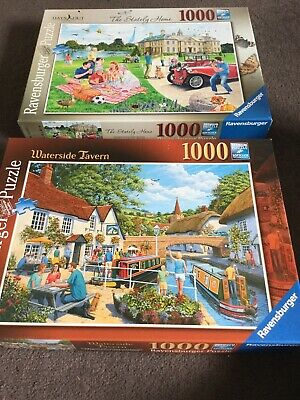 2 X 1000 Piece Jigsaw Puzzles By Ravensburger