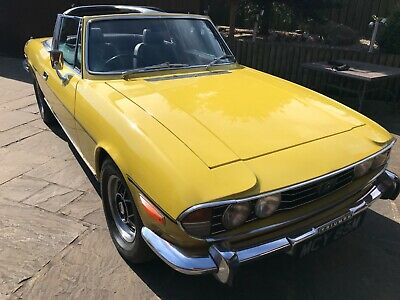 Triumph Stag 1973,This Car Is Beautiful She Has Just Been Completely Overhauled