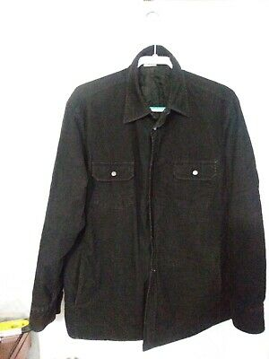 Armani Collezioni Mens Collared Long Sleeve Snap Button Shirt or Light Jacket?