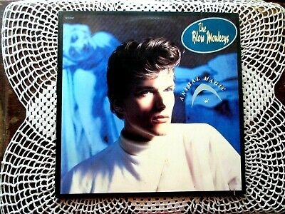 "THE BLOW MONKEYS ""ANIMAL MAGIC"" 1986 'Lp' Vinyl Record ALBUM - nice:)"