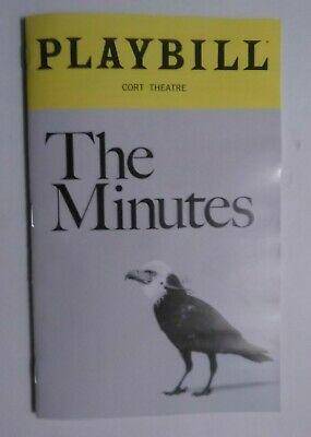 The Minutes Playbill - Cort Theatre - Armie Hammer, Jessie Mueller & Tracy Letts