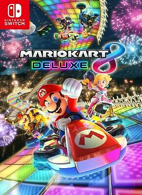 Mario Kart 8 Deluxe Nintendo Switch Digital 📥 Lire/Read description