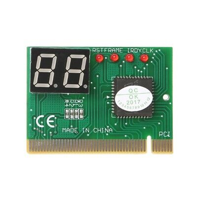 Laptop/PC 2-Digit Code PCI Card Motherboard Analyzer Diagnostic Post Tester