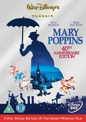 Mary Poppins (2 Disc 40th Anniversary Special Edition) [DVD] Brand New Sealed