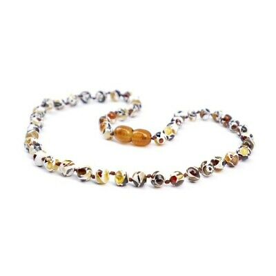 Mosaic Amber baby toddler Necklace AU Stock