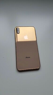 Apple iPhone XS Max - 512GB - Gold (Unlocked) + caja +cargador + Cascos.