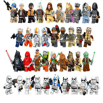 Lego Star Wars Minifigures Yoda Darth Vader  Luke Skywalker Obi Wan