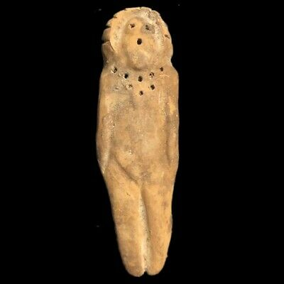 Ultra Rare Huge Stone Age Ancient Neolithic Anthropomorphic Idol 4500BC (6)