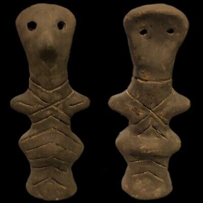 Ultra Rare Huge Stone Age Ancient Neolithic Anthromorphic Vinca Idol 4500BC (2)