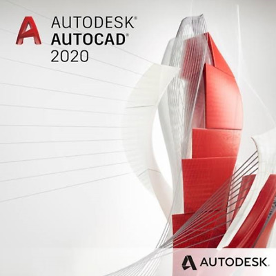 Autodesk AUTOCAD 2020 for Windows 64bit   3 years License   DELIVERY 1Hour