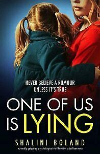 ONE OF US IS LYING BY SHALINI BOLAND🔥E-ḂΟΟϏ🔥Fast delivery🔥🔥 ṖƉḞ🔥