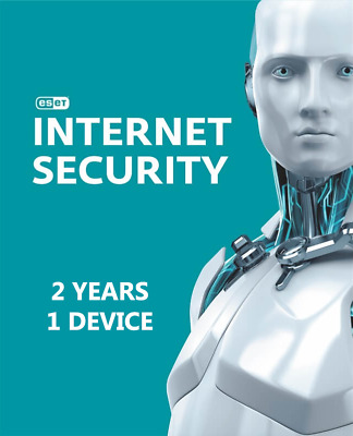 Eset internet Security for PC ( 2 YEARS , 1 DEVICE )  Global Key Licence