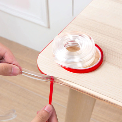 Transparent Table Edge Cabinets Tables Double-Sided Tape Guard Corner Protectors