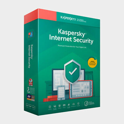Kaspersky Internet Security 2020 Antivirus 1 PC Device 1 Year - Global License