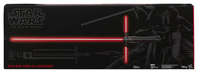 STAR WARS - Kylo Ren 'The Black Series' Force FX Deluxe Lightsaber (Hasbro) #NEW