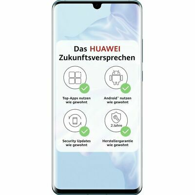 Huawei P30 Pro 256GB Breathing Crystal 8GB RAM LTE WLAN 4G Android Smartphone