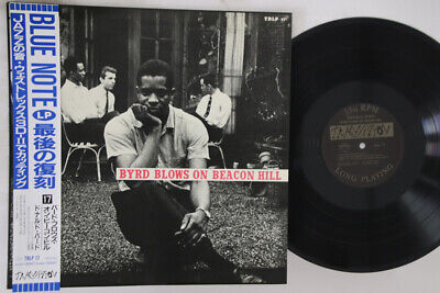 LP DONALD BYRD Byrd Blows On Beacon Hill TRIP17 TRANSITION JAPAN Vinyl OBI