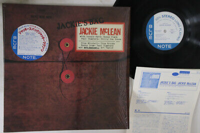 LP JACKIE MCLEAN Jackie's Bag BST84051 BLUE NOTE JAPAN Vinyl