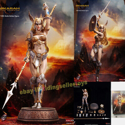"TBLeague 1:6 Scale Skarah The Valkyrie Calf Armors Model F12/"" PH Action"