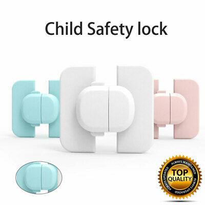 Child Baby Cupboard Cabinet Safety Locks Proofing Door Drawer Fridge Kids Safety