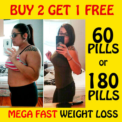 ** Mega Fast T5 Weight Loss Pills Strong Fat Burners Diet Keto Slimming Tablets