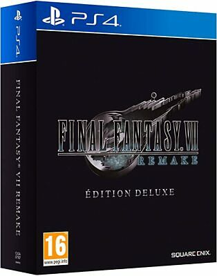 Final Fantasy VII: Remake - Edition Deluxe LIMITED EDITION PS4
