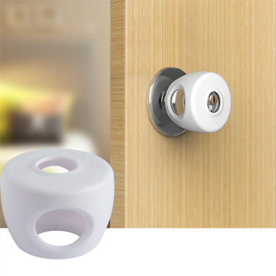 Baby Safety Child's Door Knob Covers Locks Kids Protection Lockable Safe Covers