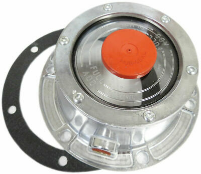 Torque Trailer Hub Cap w/ Oil Port & Side Fill Plug (Replaces Stemco 343-4009)