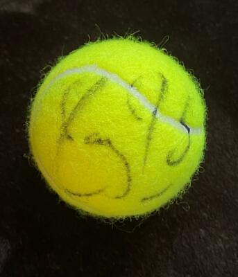 Roger Federer Signed Full Autograph Tennis Legend Champion New Ball With Coa