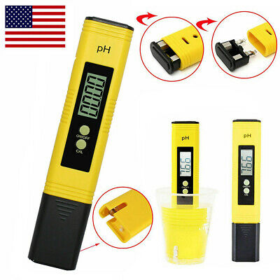 LCD Digital Electric PH Meter Tester Pocket Water Hydroponics Aquarium Test Pen