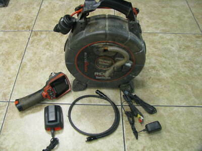 Ridgid See Snake Micro Reel with CA-300 Drain Sewer Inspection Camera Kit 33feet