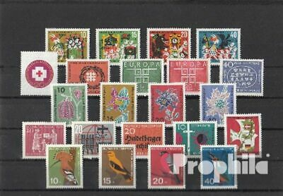 FRD (FR.Germany) 1963 unmounted mint / never hinged Complete Volume in clean Con