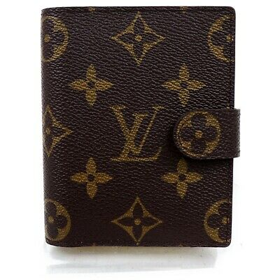 Louis Vuitton Diary Cover  Agenda Mini R20007 Browns Monogram 815944