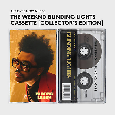 The Weeknd - BLINDING LIGHTS: CASSETTE SINGLE (UK Collector's Edition)