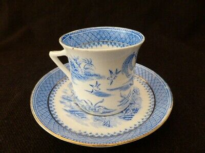 Blue & White Willow Duo (2 pieces) by Foley China lot 2