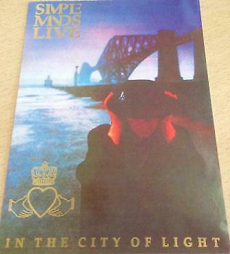 Simple Minds - In The City Of Light - 10x15cm - Carte POSTALE / Postcard