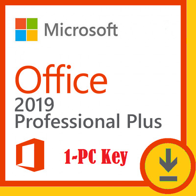 🔥ms office 2019 professional plus⚡Fast Delivery⚡(1min) Paypal 1Pc License Key🔥